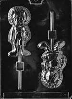 Rag Dolls Lolly Chocolate Candy Mold
