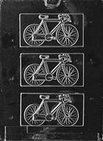 Bicycle Chocolate Candy Mold