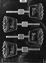 Fries Lolly Chocolate Candy Mold