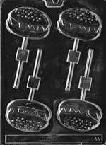 Hamburger Lolly Chocolate Candy Mold