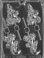 Clowns Lolly Chocolate Candy Mold