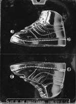 High Top Sneaker,Right Chocolate Candy Mold