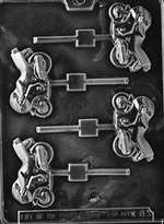 Sports Bike Lolly Chocolate Candy Mold