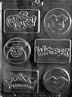 Cool Kids Chocolate Candy Mold