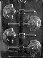 Little Girl Lolly Chocolate Candy Mold