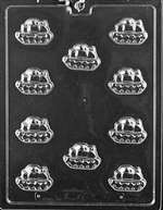 Bite Size Army Tank Chocolate Candy Mold