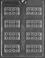 Building Blocks Chocolate Candy Mold