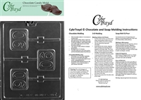 #90 Lolly Chocolate Candy Mold