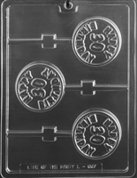 Happy 30th Birthday Lolly Chocolate Candy Mold