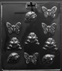 Butterfly,Snail,& Frog  Chocolate Candy Mold