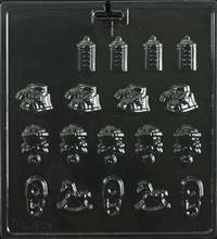 Baby Assortment  Chocolate Candy Mold