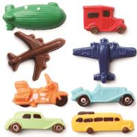 Transportation Airplane,Blimp,Truck,Jet,Motorcycle,Classic Car,School Bus Chocolate Candy Mold