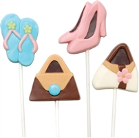 Purse and Shoe Fashion Lolly  Pops Mold