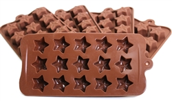 150-pack Stars Silicone Silicone Mold for Hard Candy, Chocolate, Plaster, Jello