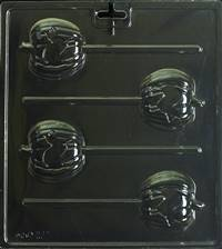 Black Cat Pops s Chocolate Candy Mold