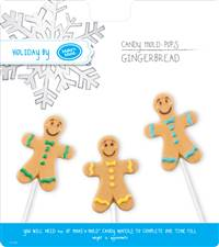 Gingerbread People Pop Chocolate Candy Mold