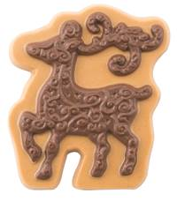 Elegant Reindeer Chocolate Candy Mold