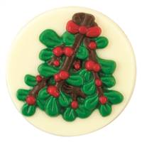 Mistletoe Toppers Chocolate Candy Mold