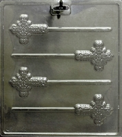 Cross Pops Mold Religious