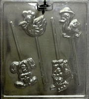 Baby Animals Lollipop Mold