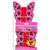 Pack of 12 Valentines Love Bug Favor Bags and Write-on Tags Candy Making Supplies