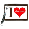 Wholesale Lot of 12 Packs of 20 I Heart Chocolate Lollipop Write-on Tags Candy Making Supplies