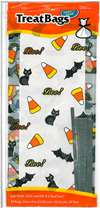 Pack of 20 Halloween Treat Bags w/Ties Candy Making Supplies
