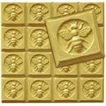 Honeybee Guest Soap Mold Tray - Makes 1.75 oz Bars. Milky Way. Melt & Pour, Cold Process