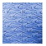 Fins and Feathers Tray Soap Mold - Makes 4 oz Bars.Milky Way. Melt & Pour, Cold Process