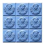 Angel Soap Mold - Makes 4.25 oz Bars. Milky Way. Melt & Pour, Cold Process