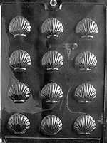 Small Shells Chocolate Candy Mold