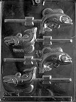 Fish Lolly Chocolate Candy Mold