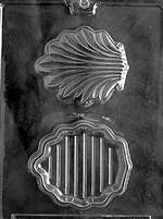 Shell Pour Box Chocolate Candy Mold