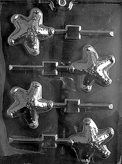 Starfish Lolly Chocolate Candy Mold