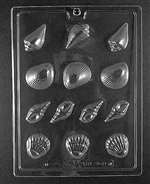 Seashell Assortment Chocolate Candy Mold