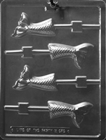 Mermaid Tail Lolly Chocolate Candy Mold