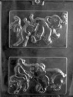 Political Elephant/Donkey For Chocolate Candy Mold