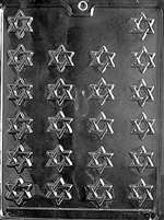 Bite Size Star Of David Chocolate Candy Mold