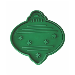 Ornament Cookie Stamper 2.75""