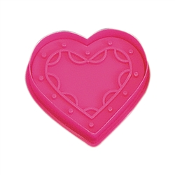 Heart Cookie Stamper 2.75""