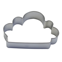 "Cloud 4"" Tinplated Steel Cookie Cutter"