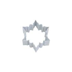 "Snowflake 2.75"" Polyresin Coated Cookie Cutter White"