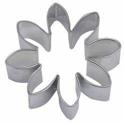 "Flower 2.25"" Tinplated Steel Cookie Cutter"