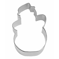 "Snowman 5"" Tinplated Steel Cookie Cutter"