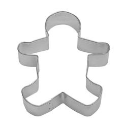 "Gingerbread Boy 5"" Tinplated Steel Cookie Cutter"