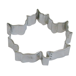 "Canada Maple Leaf 5"" Tinplated Steel Cookie Cutter"