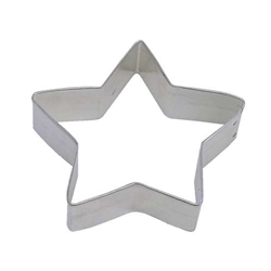 "Star 4.5"" Tinplated Steel Cookie Cutter"