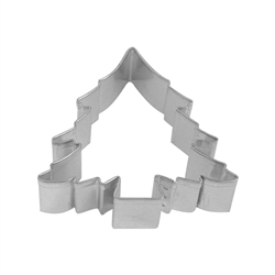 "Christmas Tree 3.5"" Tinplated Steel Cookie Cutter"