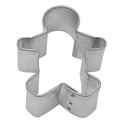 "Gingerbread Boy 2.25"" Tinplated Steel Cookie Cutter"