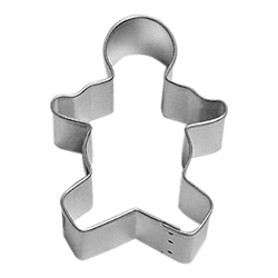 "Gingerbread Boy 3"" Tinplated Steel Cookie Cutter"